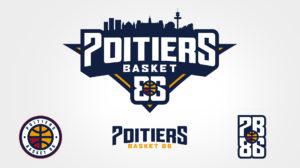 charte graphique pb86 poitiers basket 86 logo