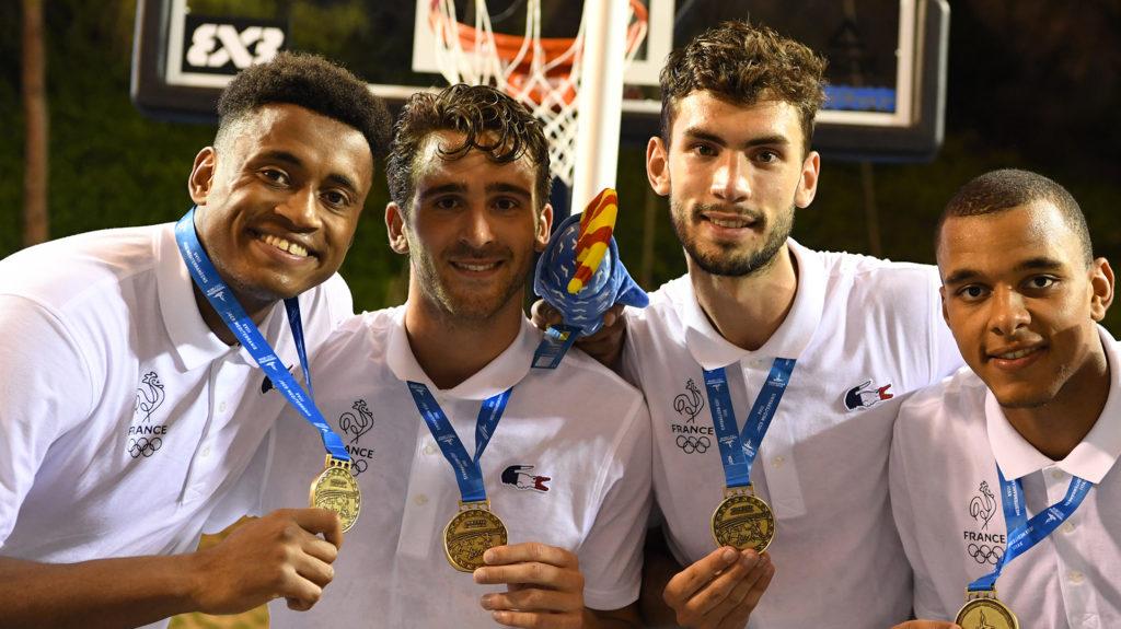 Jim seymour médaille d'or jeux méditerranéens