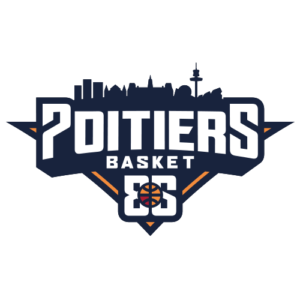 Logo officiel pb86 poitiers basket 86