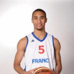 Kevin Harley en équipe de France A' (©FFBB)