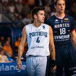 Arnauld Thinon joueur du Poitiers Basket 86
