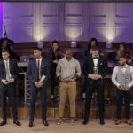 Le 5 Majeur PRO B : Xavier Forcada, Kévin Harley, Marcellus Sommerville, Miralem Halilovic et Brandon Jefferson.